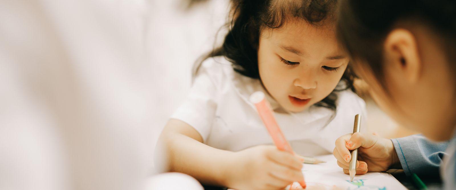 幼兒園及幼稚園的課程